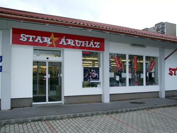 Tatabányai Star Áruház Ditec automata ajtóval